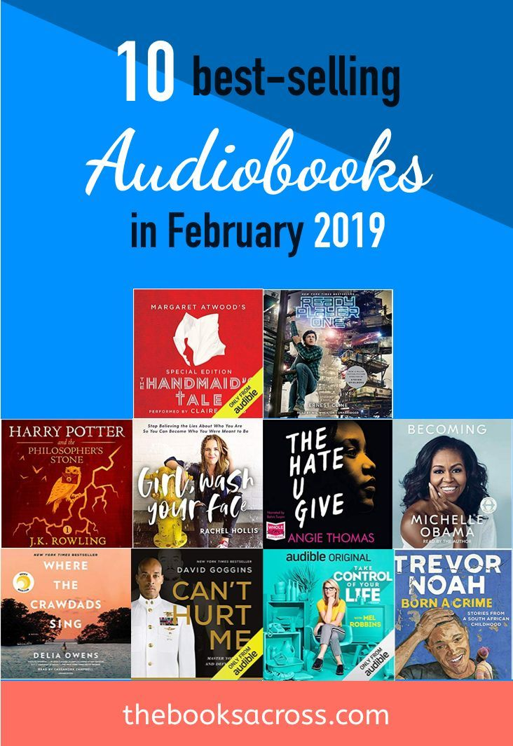 Best Audio Books 2019 10 Best Selling Audiobooks in February 2019 | Bookish Posts I Love