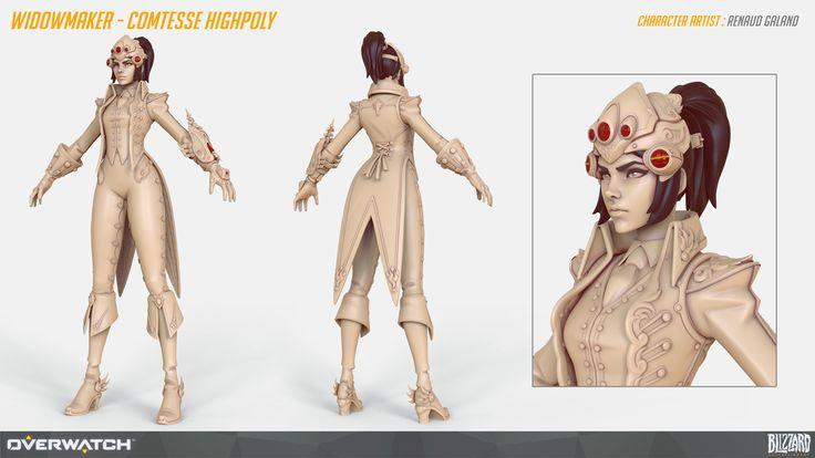 Overwatch Characters Art Dump