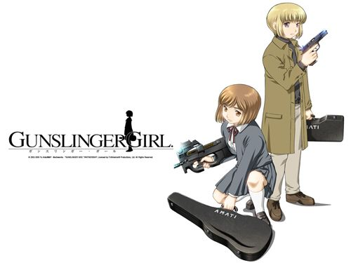 Gunslinger Girl Wallpaper 005 | Artist / Owner: Funimation
