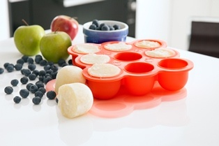 Freezer Pods are specially designed for freezing home-made baby food.  Home-made baby food is the best for your growing baby - No additives or preservatives ;o)