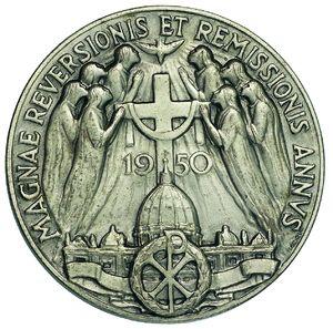 Artemide Aste - Asta XXVI: 1286 - Pio XII (1938-1959) Medaglia 1950 per il Giubileo - Dea Moneta