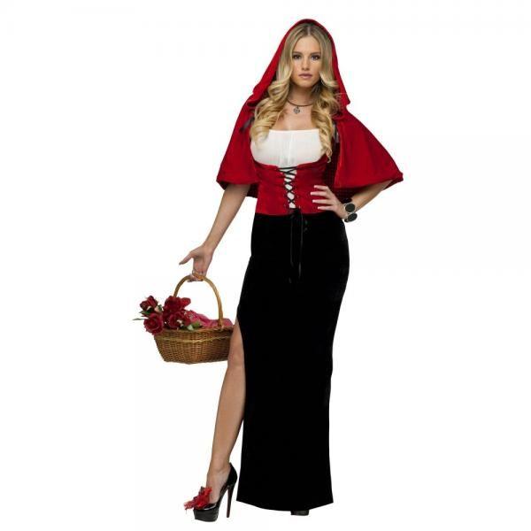 商品名 セクシー・レッド 赤ずきん 衣装、コスチューム 大人女性用 商品コード sy01614M 商品説明 ベルベットのレースの編み上げのレッドコルセットがステキな、エレガントなフルレングスのピッタリした細身のガウン、深いフードが付いたベルベットの短めのレッドケープ(格子縞の裏地でリバーシブルになります) ※アクセサリー、バスケット、靴は含まれておりません。サイズの解説■Mサイズ 女性用 身長160~170cm バスト96cmまで ウエスト76cmまで■Lサイズ 女性用 身長165~175cm バス...