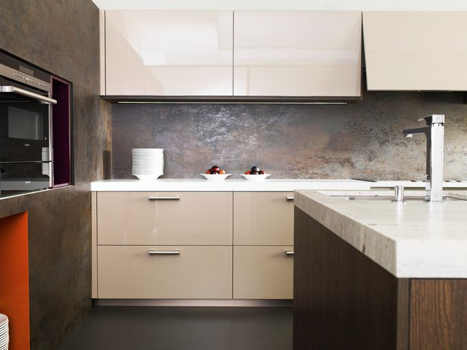 Urbatek extra-fine porcelain stoneware, now in kitchens