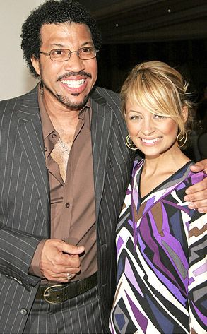 Lionel Richie & his adopted daughter, Nicole Richie