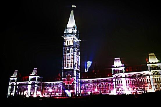 Parlament, Ottawa, 2012