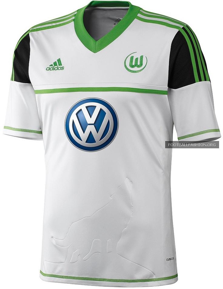 VfL Wolfsburg adidas 2012/13 Away Kit