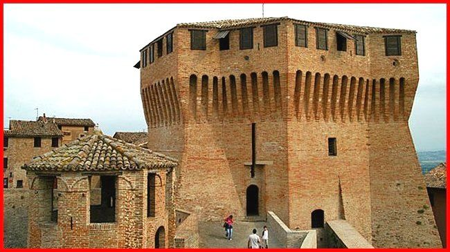Rocca di Mondavio pagina 1, castelli della provincia di Pesaro-Urbino, Castelli delle Marche