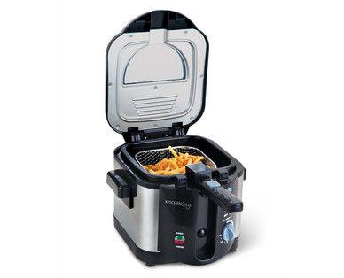 kitchen living 6 cup cool handle deep fryer i neeeeed it rh pinterest com Presto Fry Baby Deep Fryer Presto Fry Baby Deep Fryer