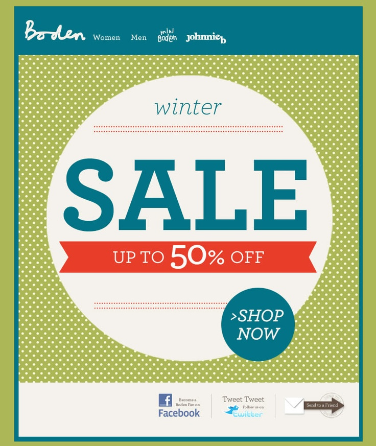 119 best images about sale e mails on pinterest urban for Boden newsletter