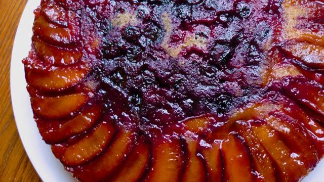 Upside-Down Plum Cake   KCTS 9 - Public Television