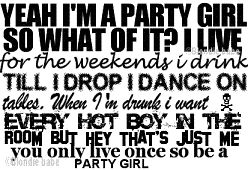party girl quotes | Party Girl