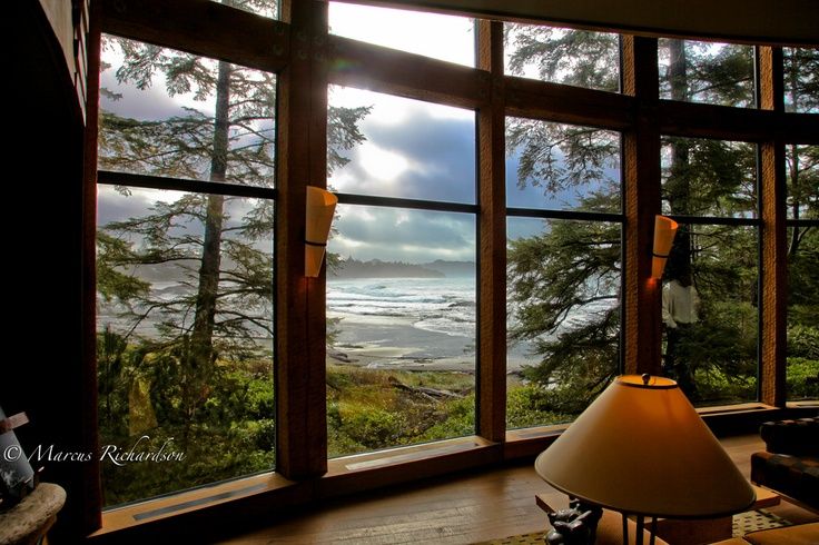This is one of the greatest views in the world. Wickaninnish Inn, Tofino, British Columbia