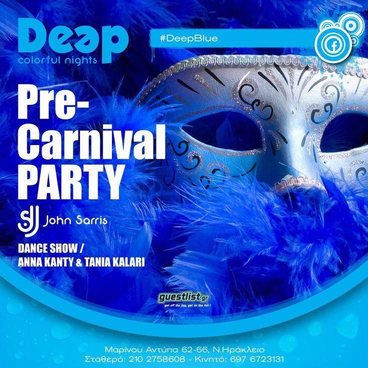 #DeepBlue ~ Carnival Party #Masque