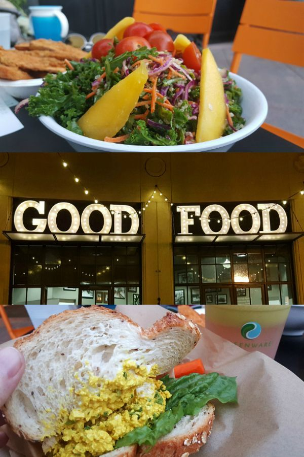 Healthy Junk Vegan Restaurant In Anaheim Mama Likes To Cook Vegan Restaurants Healthy Junk Travel Food