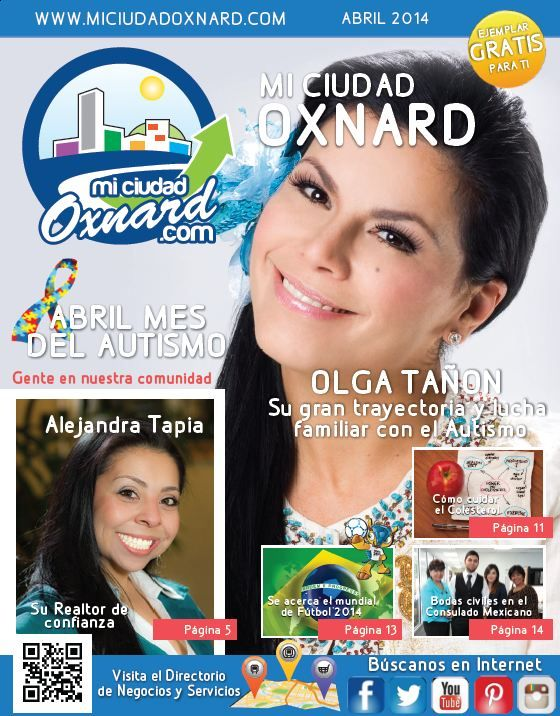 Our third edition for the month of April. Stay tuned for our next edition. #miciudadoxnard #oxnard #miciudadoxnardrevista