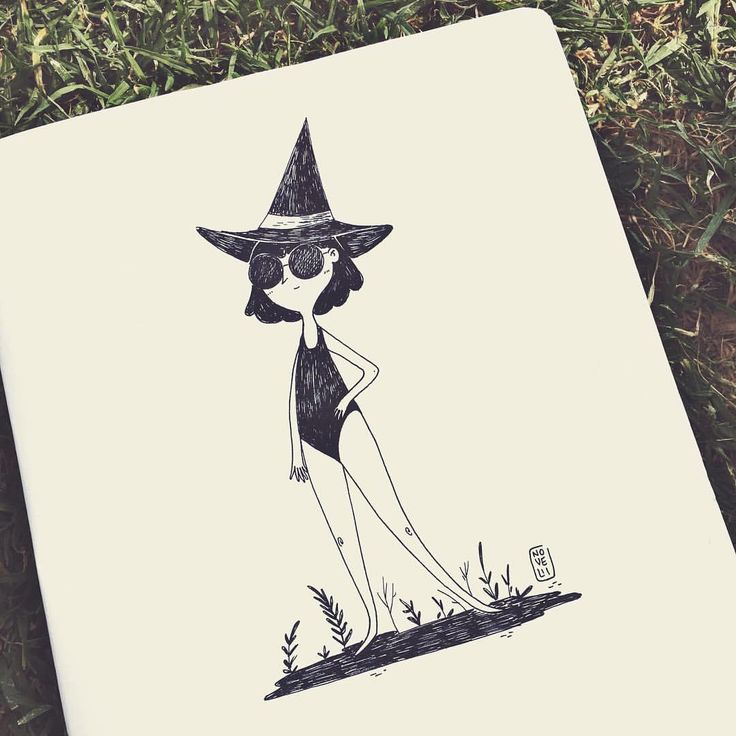 catalina-novelli:    Las brujas tbm tienen derecho a vacaciones    #magic #witchery #witch #witchat #witchcraft #ilustracion #illustration #witchgirl #illustrationoftheday #illusgram #postoftheday #catalinanovelli