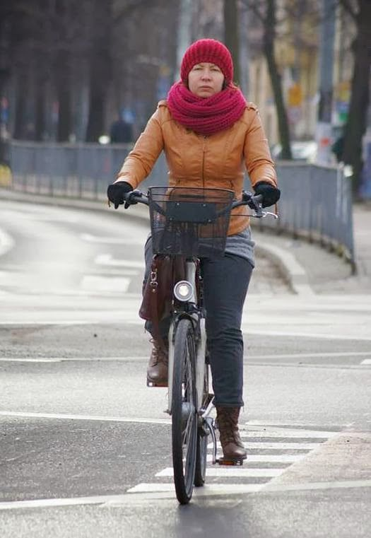 #Wrocław #autumn on #bike