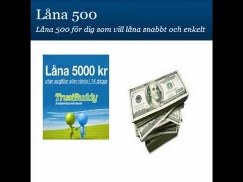 Privatlån låna 500 direkt händer också