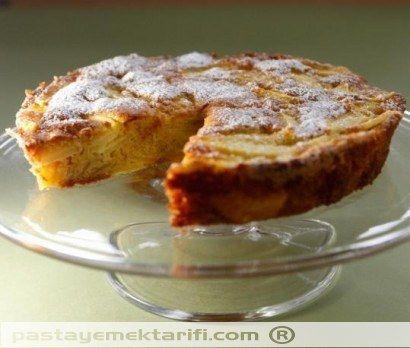 Hollanda Usulü Elmalı Kek