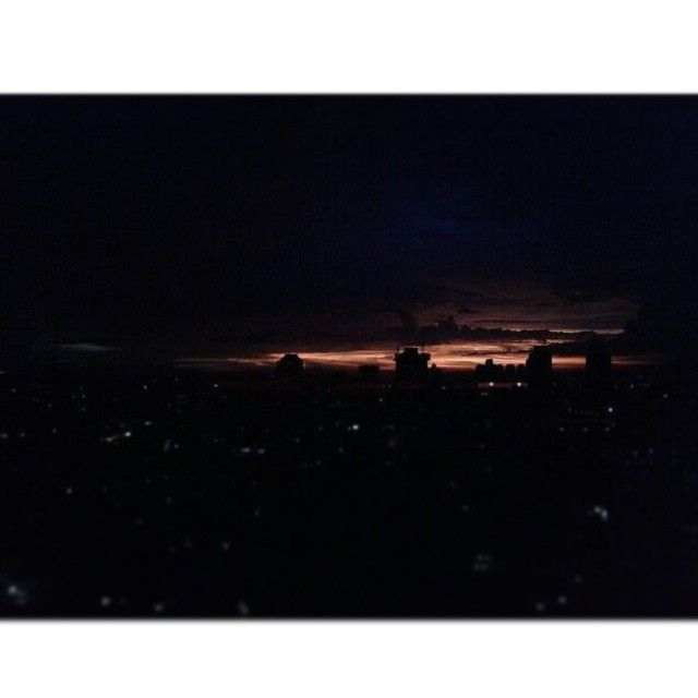 This is the fear that made fish crawl out onto dry land and evolve lungs, the fear that teaches us to run, the fear that makes us bury our dead. -John Green (Paper Towns) #johngreen #papertowns #bookquote #book #quote #fear #run #dark #sky #sunset #skyline #city #light #view #landscape #skyscraper #langit #senja #kota #Jakarta #kutipan #buku