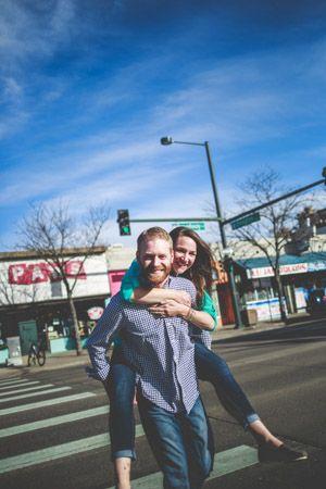Denver Engagement Photographers | Denver Colorado Engagement Photos | South Broadway