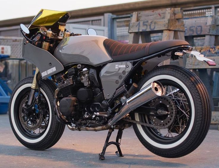 Yamaha XJ600 Cafe Racer by Vintage Addiction #motorcycles #caferacer #motos | caferacerpasion.com