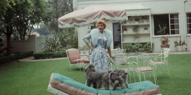 A Rare Glimpse Into Life at Home With Lucille Ball - GoodHousekeeping.com