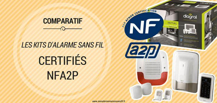 Les meilleurs packs du0027alarme maison sans fil certifiés NFa2p Les
