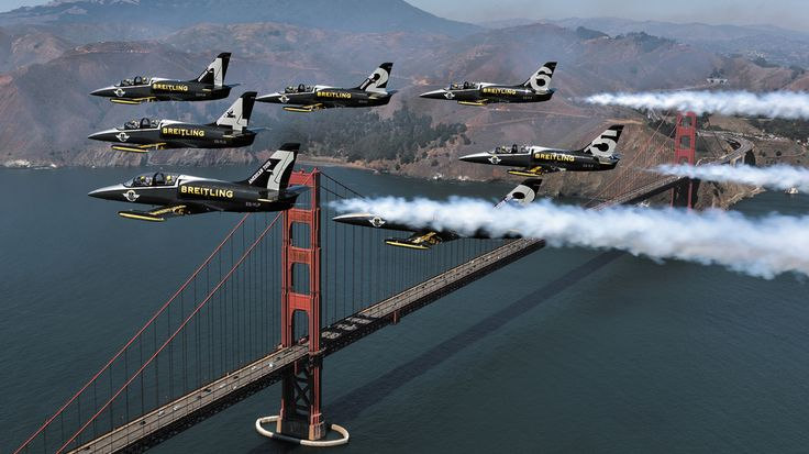 The Breitling Jet Team conquers America - Breitling - Instruments for Professionals