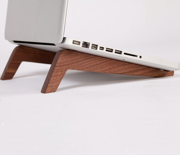 : Woods Products, Sexy Laptops, Tablet Stands, Laptops Stands, Good Ideas, Walnut Woods, Stems, Wooden Laptops, Tech Gadgets