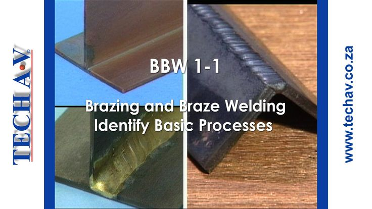 Brazing & Braze Welding Part 1 of 8