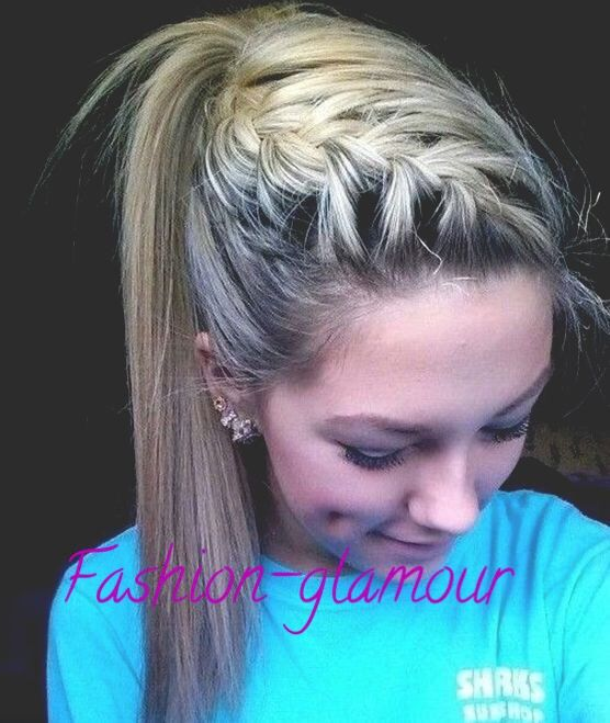 Beautiful hairstyles for high school : 197 best Todo sobré peinado images on Pinterest