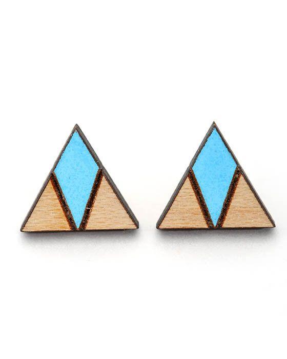Core - Arrow Head Earrings - Sky Blue – Daisy Chain Store