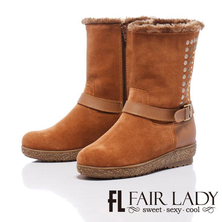 https://tw.buy.yahoo.com/gdsale/Fair-Lady-冒險旅程-鉚釘裝飾亮眼鋪毛雪靴-駱駝-4853898.html
