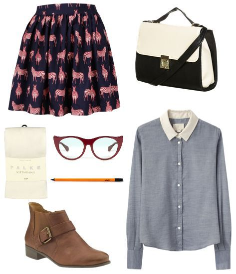 Looks from Books: Nerdfighters Unite - Fashion inspired by John Green's novel The Fault In Our Stars