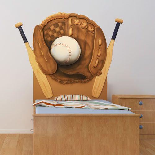 Baseball Headboard from PoshTots