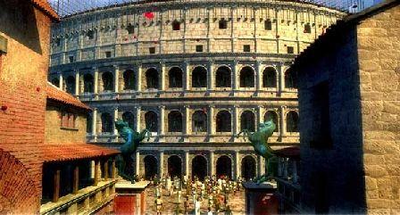 Római Birodalom - Colosseum és környezete