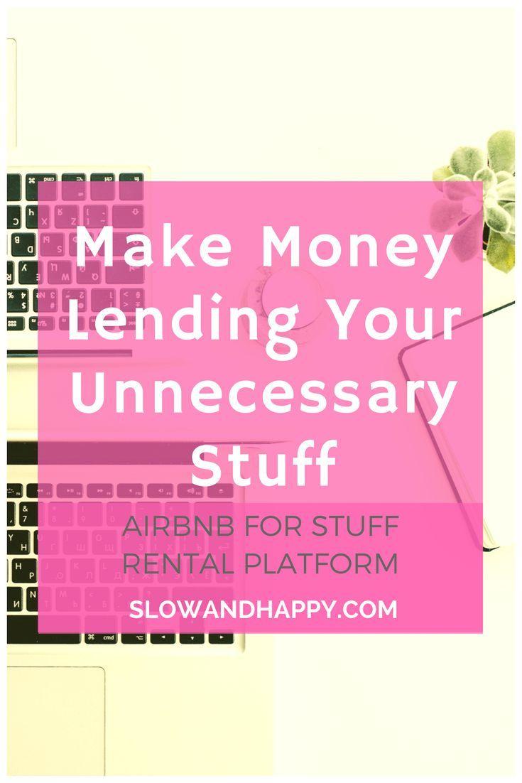 On Borrowing Again + the Fat Lama Rental Platform – Finances & Budgeting