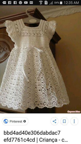 Beautiful Lotus Baby Dress Free Crochet Pattern | GARMENTS