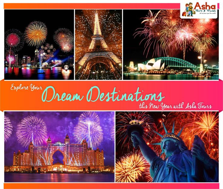 Explore your Dream Destinations this New Year with Asha Tours. #Asha #Tours #Dream #Destinations #New #Year #Explore #Travelling