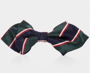 bow tie green 1067