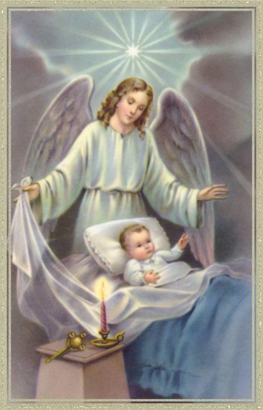 HIMNO DE LAUDES AL SANTO ÁNGEL DE LA GUARDA Ángel santo de la guarda, compañero de mi vida, tú que nunca me abandonas, ni de noche ni de día. Aunque espíritu invisible, se que te hallas a mi lado, escuchas mis oraciones y cuenta todos mis pasos. En las sombras de la noche, me defiendes del demonio, tendiendo sobre mi pecho tus alas de nácar y oro. Ángel de Dios, que yo escuche tu mensaje y que lo siga, que vaya siempre contigo hacia Dios, que me lo envía.