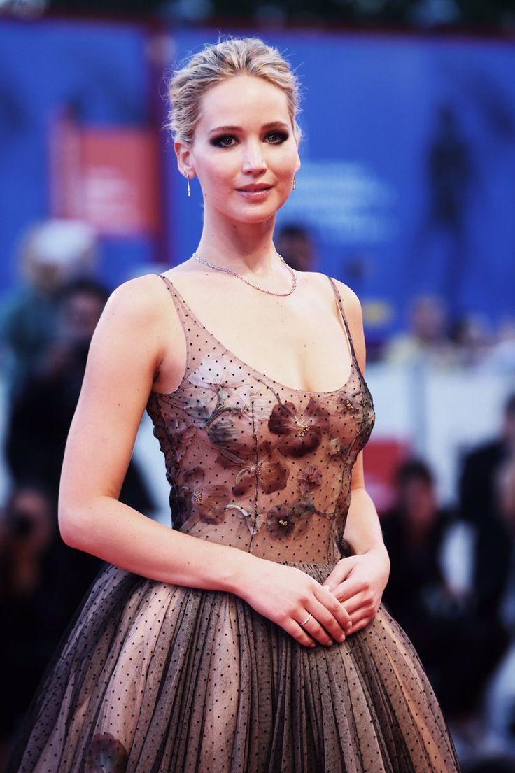 Breathtaking! Jennifer Lawrence looks fantastic as she attends the 'mother!' world-premiere in Venice.