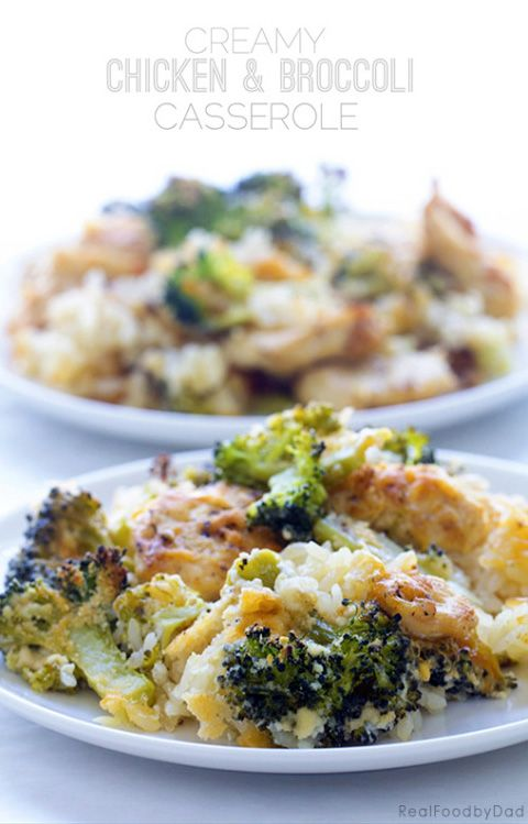 Creamy Chicken And Broccoli Casserole Recipe  Real Food -6163