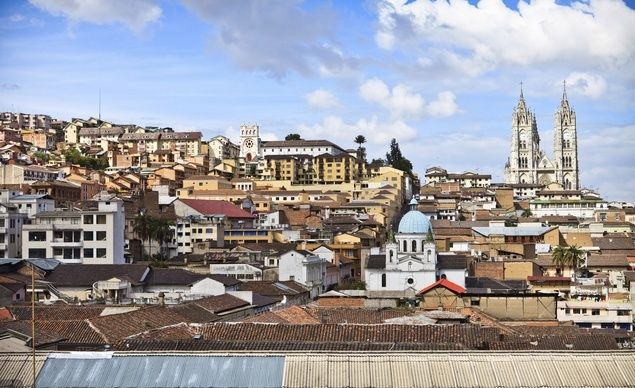 When in Quito, stop in Old Town for a taste of Ecuador's history, not to mention a taste of the city's great cuisine. A tour of Quito juxtaposes the Spanish Colonial past with the modern, and includes a number of dramatic architectural gems that are unlike any others on earth. (Courtesy Friendly Planet Travel)  Read more: http://www.budgettravel.com/slideshow/budget-travel-vacation-ideas-amazing-photos-of-ecuador,55892/#ixzz3o0oBS1gh