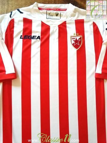 Relive Red Star Belgrade's 2012/2013 season with this original Legea home football shirt.