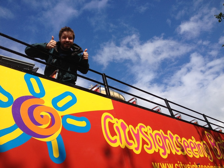 City Sightseeing bus! Girls definitely want to do this