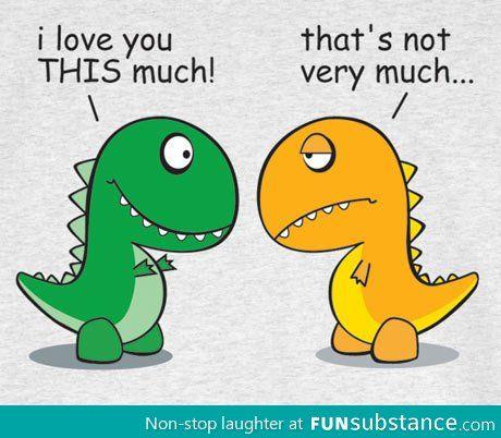 Misunderstood T-Rex - FunSubstance.com