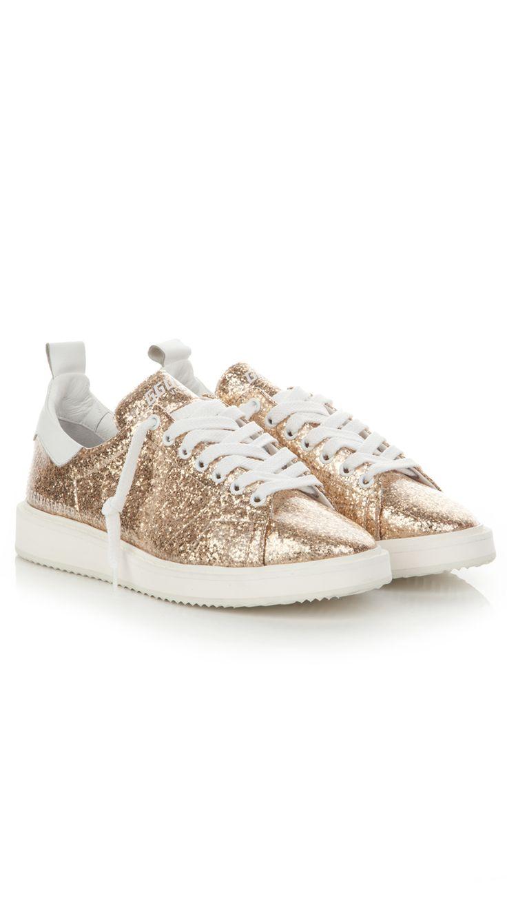 Golden Goose Deluxe Brand gold sneakers