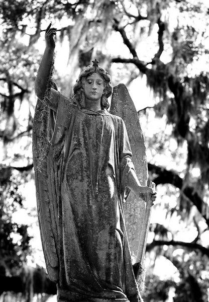 """""""According to local folklore and legend, Little Gracie Watson is among the most haunted spirits residing at Bonaventure and in Savannah."""""""